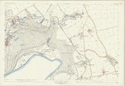 Devon CV.10 (includes: Calstock; Tavistock Hamlets) - 25 Inch Map