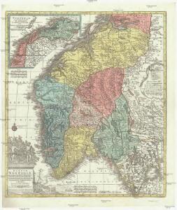 Regnum Norwegiae accurata et novissima delineatione