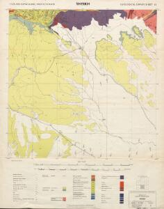 1 : 125,000 Somaliland Protectorate. Geological Survey. D.C.S. 1076, Sheikh