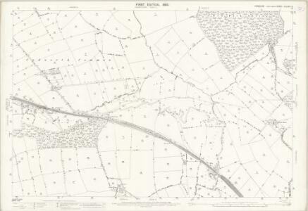 Yorkshire CCLXXV.6 (includes: Barnsley; Brierley; Cudworth; Darfield; Great Houghton; Little Houghton) - 25 Inch Map