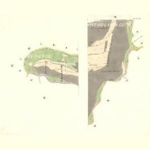 Bernhau (Barnow) - m2132-2-003 - Kaiserpflichtexemplar der Landkarten des stabilen Katasters