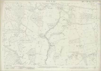 Sussex XIX.15 (includes: Etchingham; Hawkhurst) - 25 Inch Map