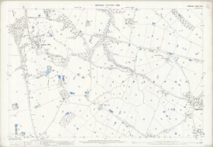 Cheshire XVI.16 (includes: Appleton; Grappenhall; Stretton) - 25 Inch Map