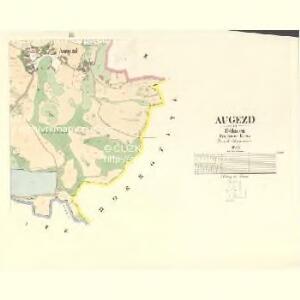Augezd - c8234-1-003 - Kaiserpflichtexemplar der Landkarten des stabilen Katasters