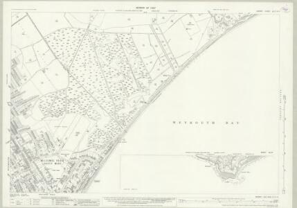 Dorset LIII.7 & 8 (includes: Osmington; Weymouth) - 25 Inch Map