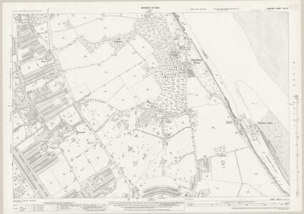 Cheshire XXIII.5 (includes: Bebington and Bromborough; Eastham) - 25 Inch Map