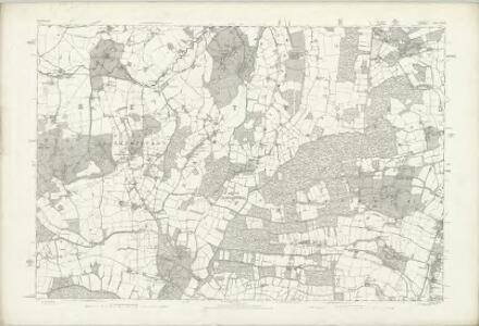 Hertfordshire XXXV - OS Six-Inch Map