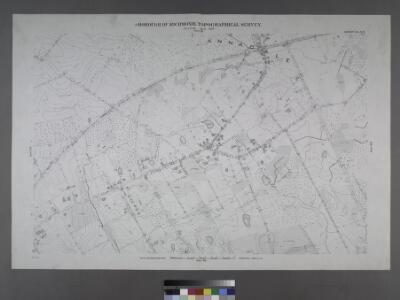 Sheet No. 84. [Includes Annadale Road and Amboy Road in Annadale.]; Borough of Richmond, Topographical Survey.