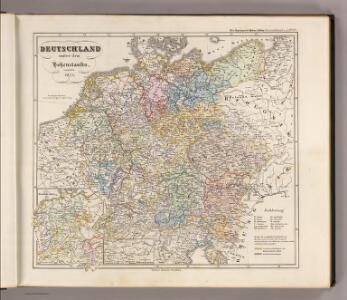 Deutschland unter den Hohenstaufen, und bis 1275.