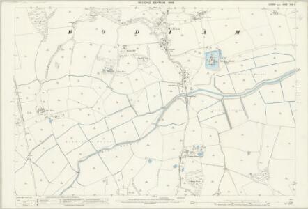 Sussex XXXI.9 (includes: Bodiam; Ewhurst) - 25 Inch Map