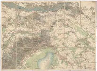 Umgebungs - Karte von Bruck an der Leitha