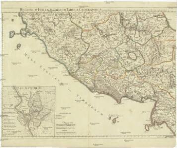 Regionum Italiae mediarum tabula geographica