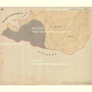 Prerau (Přerow) - m2453-1-021 - Kaiserpflichtexemplar der Landkarten des stabilen Katasters