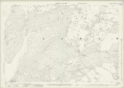 Surrey IV.16 (includes: Egham) - 25 Inch Map