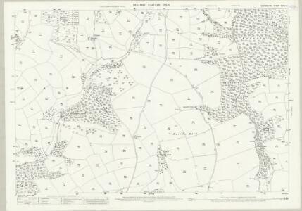 Devon XXXIV.12 (includes: Tiverton) - 25 Inch Map