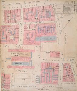 Insurance Plan of London Vol. VIII: sheet 190