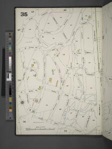 Manhattan, V. 12, Plate No. 35 [Map bounded by W. 244th St., Broadway, W. 236th St., Greystone Ave.]