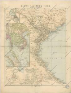 Karte von Tong - King