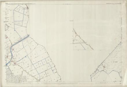 Shropshire XIV.1 (inset VII.13) (includes: Bettisfield; Bronington; Ellesmere Rural; Welshampton; Wem Rural) - 25 Inch Map