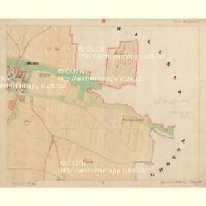Dinin - c1639-1-007 - Kaiserpflichtexemplar der Landkarten des stabilen Katasters