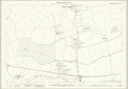 Huntingdonshire XXI.2 (includes: Easton; Ellington; Grafham) - 25 Inch Map