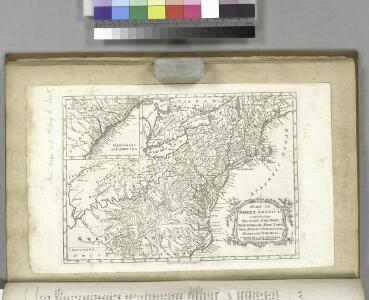 Part of North America : comprehending the course of the Ohio, New England, New York, New Jersey, Pensilvania, Maryland, Virginia ...