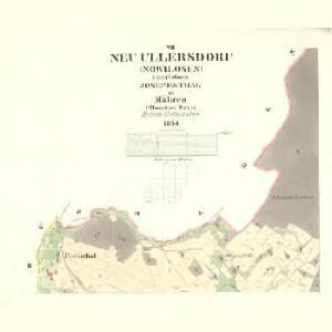 Neu Ullersdorf (Nowilosen) - m2051-1-005 - Kaiserpflichtexemplar der Landkarten des stabilen Katasters