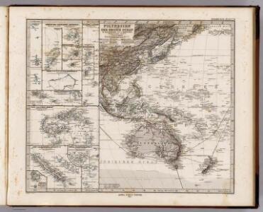 Polynesien Und Der Grosse Ocean (Westliches Blatt).