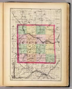 (Map of Barry County, Michigan)