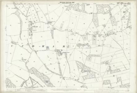 Surrey XXI.10 (includes: Orpington) - 25 Inch Map