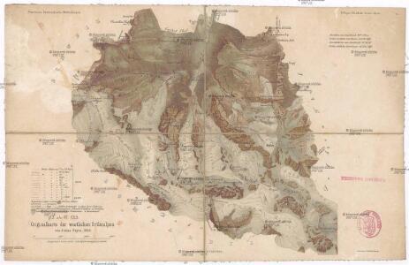 Originalkarte der westlichen Ortleralpen