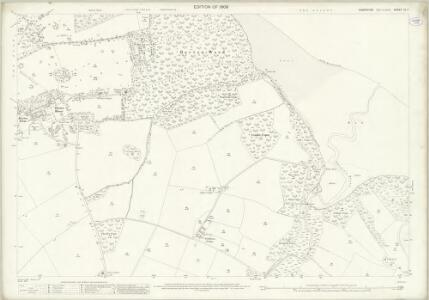 Hampshire and Isle of Wight XC.7 (includes: Cowes; Newport) - 25 Inch Map