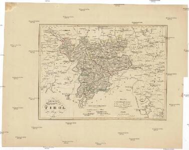 Karte von Tirol
