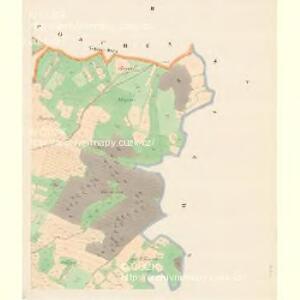 Plawsko - c5821-1-002 - Kaiserpflichtexemplar der Landkarten des stabilen Katasters