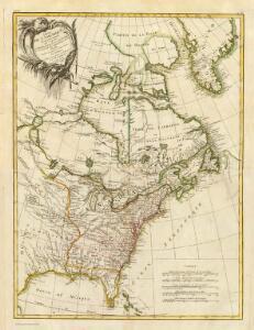 Composite: L'Amerique Septentrionale.
