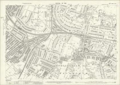 Kent VII.15 (includes: Beckenham) - 25 Inch Map