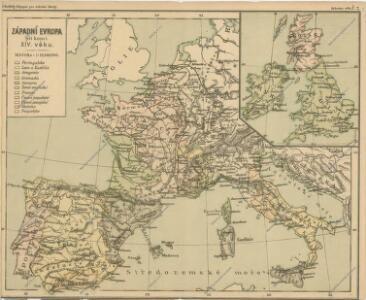 Západní Evropa při konci XIV. věku