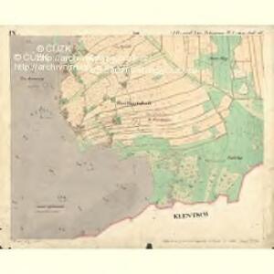 Alt u. Neu Possigkau - c6041-1-009 - Kaiserpflichtexemplar der Landkarten des stabilen Katasters