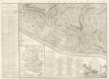 Nouveaux Plan Topographique de la ville de Lyon: Avec un prcis historique sur cette Ville. Et une Notice sur ce qu'elle contient de remarquable