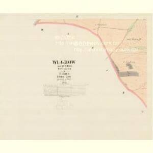 Wegrow - c8930-1-003 - Kaiserpflichtexemplar der Landkarten des stabilen Katasters