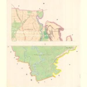 Lesche (Lestina) - m1504-1-002 - Kaiserpflichtexemplar der Landkarten des stabilen Katasters