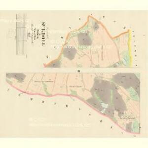 Sukdoll - c7546-1-001 - Kaiserpflichtexemplar der Landkarten des stabilen Katasters