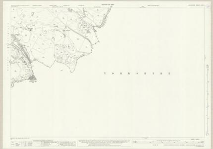 Lancashire LXXIII.1 (includes: Cliviger; Todmorden) - 25 Inch Map