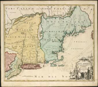 Nova Anglia Septentrionali Americae implantata Anglorumque coloniis florentissima geographicè exhibita