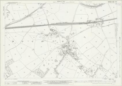 Berkshire XII.15 (includes: Ashbury; Bishopstone; Bourton; Shrivenham) - 25 Inch Map