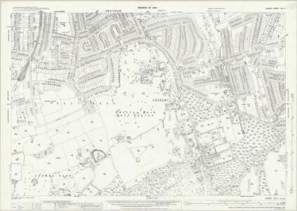 Surrey XIV.11 (includes: Croydon St John The Baptist) - 25 Inch Map