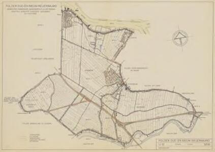 Polder Oud- en Nieuw-Reijerwaard, gemeente Ridderkerk, Barendrecht en Rotterdam.