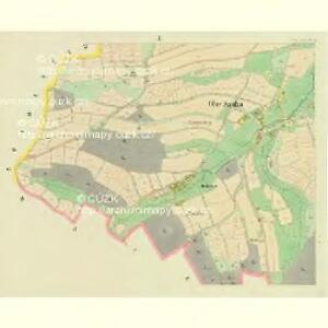 Ober Sandau - c2180-1-002 - Kaiserpflichtexemplar der Landkarten des stabilen Katasters