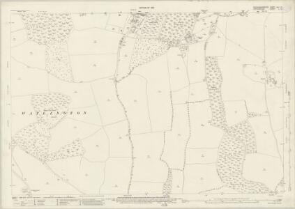 Buckinghamshire XLV.16 (includes: Fawley; Pishill with Stonor) - 25 Inch Map