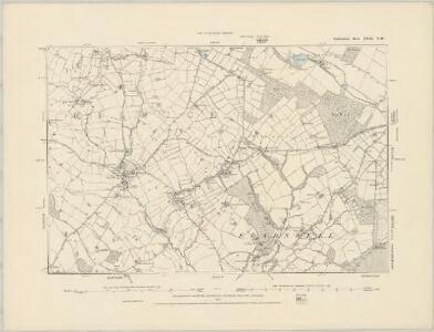 Staffordshire XXXI.SW - OS Six-Inch Map